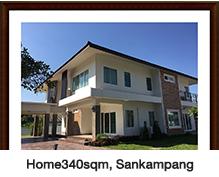 Home340sqm, Sankampang